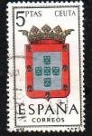 Sellos de Europa - España -  Escudos de las provincias españolas - Ceuta