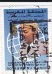 Sellos de Africa - Marruecos -  Aniversario de la creación de las fuerzas armadas reales