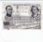 Sellos de Europa - Bélgica -  Academia Real de Lenguaje y Literatuta Francesa