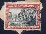 Stamps Chile -  abrazo de maipu