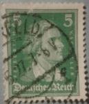 Sellos de Europa - Alemania -  friedrich reich 1927