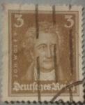 Sellos de Europa - Alemania -  joh.wolfg reich 1927