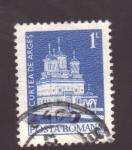 Stamps Romania -  curtea de arges