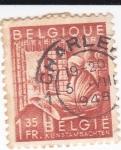 Sellos de Europa - Bélgica -  Artesana