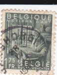 Sellos del Mundo : Europa : Bélgica : Artesana