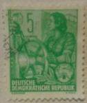 Stamps Germany -  demokratische republik 1953