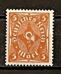 Sellos del Mundo : Europa : Alemania : Rep.Weimar / Corneta Postal.