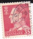 Sellos del Mundo : Europa : Dinamarca : Rey Frederick IX
