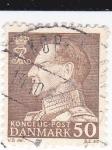 Stamps Denmark -  Rey Frederick IX