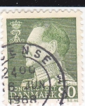 Stamps : Europe : Denmark :  Rey Frederick IX