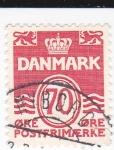 Sellos del Mundo : Europa : Dinamarca : Cifras