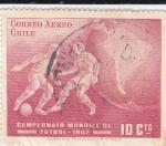 Sellos de America - Chile -  Campeonato mundial de futbol-1962