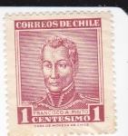 Sellos de America - Chile -  Francisco A.Pinto-Presidente de Chile