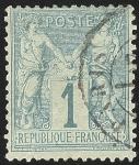 Sellos de Europa - Francia -  Peace and Commerce