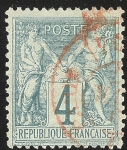 Stamps France -  Peace and Commerce