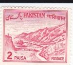 Stamps Pakistan -  Paso de Khyber -