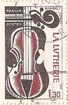 Stamps France -  La Lutherie