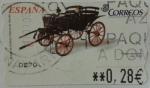 Sellos de Europa - España -  faeton esclusivo 1850