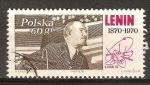 Sellos del Mundo : Europa : Polonia :  Centenario del nacimiento de Lenin 1870-1970.