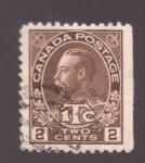 Stamps America - Canada -  jorge v