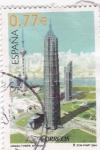 Sellos de Europa - España -  Jinmao Tower- Shanghai   (G)