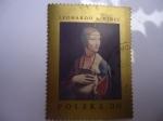 Stamps Poland -  Pinbtura.-Leonardo da  Vinci.