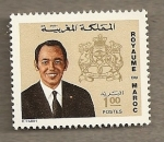 Stamps Africa - Morocco -  Rey Hassan II