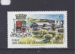 Stamps Chile -  225 años de ancud