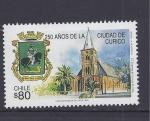 Stamps Chile -  250 años de curico