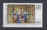 Stamps Chile -  400años de permanencia de los agustinos en chile
