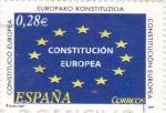 Sellos de Europa - España -  Constitución Europea     (G)