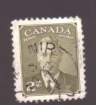 Sellos de America - Canadá -  Jorge VI