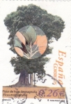 Sellos de Europa - España -  Ficus de hoja de Magnolia    (G)