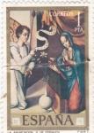 Sellos de Europa - España -  PINTURA-La Anunciación  (L.Morales)   (G)