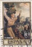 Stamps Spain -  PINTURA -San Francisco de Asis (L.Morales)   (G)
