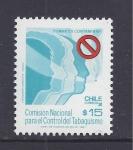 Stamps Chile -  comision nacional control tabaquismo