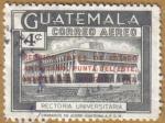 Sellos del Mundo : America : Guatemala : Rectoria Universitaria