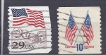 Stamps United States -  banderas