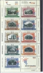 Stamps Chile -  bicentenario