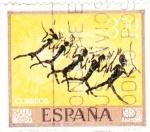 Sellos de Europa - España -  PINTURA- Homenaje al pintor desconocido    (G)