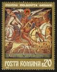 Stamps Romania -  RUMANIA - Iglesias de Moldavia