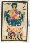 Stamps Spain -  PINTURA CODICES- Real Academia de la Historia  (G)