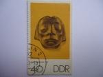 Sellos del Mundo : Europa : Alemania : Escultor: ERNST  BARLACH . (1870-1938)  DDR