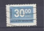 Sellos de America - Argentina -  cifra