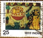 Stamps India -  Dia del Niño