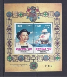 Stamps Chile -  exfina 89