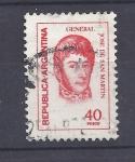 Stamps Argentina -  Gral San Martin