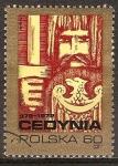 Sellos del Mundo : Europa : Polonia : Milenario de la Batalla de Cedynia. Knight polaco de 972 dC.