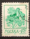 Sellos de Europa - Polonia -  Dibujos de S. Wyspianski. Trébol.