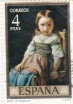 Sellos del Mundo : Europa : España : PINTURA -Nena (E.Rosales)   (G)